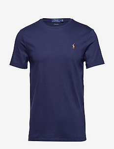 Custom Slim Soft Cotton Tee - basic t-shirts - french navy