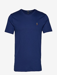 Custom Slim Fit Interlock Tee - HOLIDAY SAPPHIRE