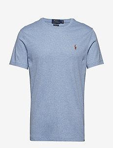 Custom Slim Soft Cotton Tee - basic t-shirts - jamaica heather