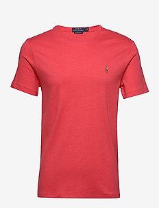 Custom Slim Fit Interlock Tee - kortärmade t-shirts - rosette heather
