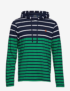 Striped Cotton Hooded Tee - STEM MULTI