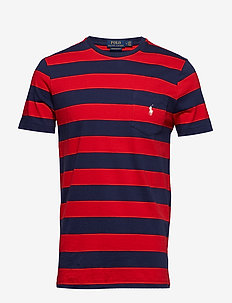 SSCNCMSLM10-SHORT SLEEVE-T-SHIRT - CRUISE RED/NEWPOR