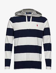 Cotton Jersey Hooded T-Shirt - CRUISE NAVY/DECKW