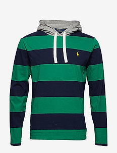 Cotton Jersey Hooded T-Shirt - ENGLISH GREEN/CRU