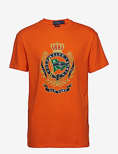 SSCNCLSM1-SHORT SLEEVE-T-SHIRT - SAILING ORANGE