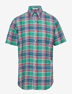 BDNPTPPCSSSP-SHORT SLEEVE-SPORT SHIRT - 3333C EMERALD/RED