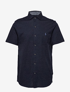 SSFBCMSLM3-SHORT SLEEVE-KNIT - WINTER NAVY HEATH
