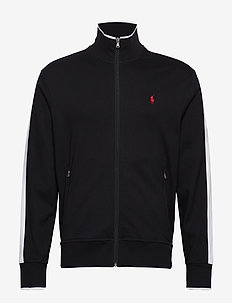LSFZMOCKM1-LONG SLEEVE-KNIT - POLO BLACK