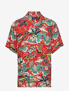CMP HMNG SS-SHORT SLEEVE-SPORT SHIRT - 3400 VINTAGE PALM