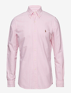 Slim Fit Gingham Oxford Shirt - 3039C STRIPE