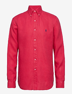 BD PPC SPT-LONG SLEEVE-SPORT SHIRT - BERMUDA RED