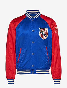 Varsity-Inspired Jacket - RL 2000 RED/ SAPP