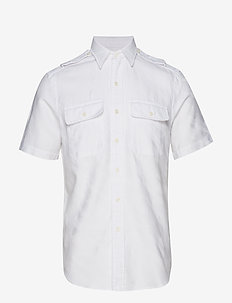 Custom Fit White Camo Shirt - 4027 WHITE CAMO