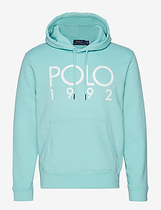 Cotton-Blend Graphic Hoodie - BAYSIDE GREEN