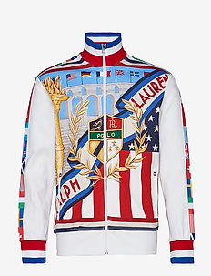 Graphic Track Jacket - RL OLYMPIC CREST