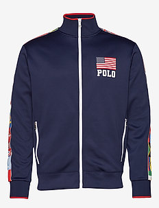 Performance Fleece Track Jacket - NEWPORT NAVY