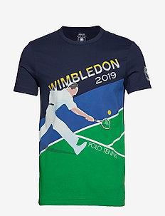 Wimbledon Custom Slim Fit Tee - TENNIS POSTER PRI