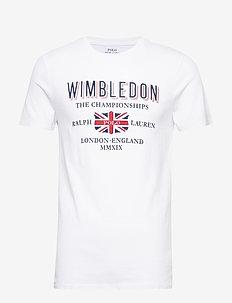 Wimbledon Custom Slim Fit Tee - WHITE