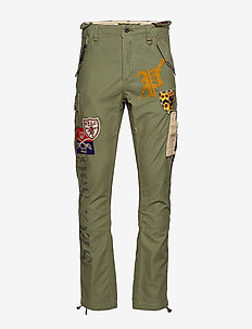 Classic Tapered Fit Cargo Pant - ARMY OLIVE