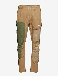 Classic Tapered Fit Pant - KHAKI/OLIVE MULTI