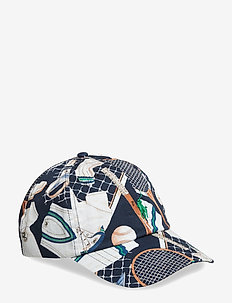 Wimbledon Cotton Twill Cap - TENNIS SHIRT PRIN
