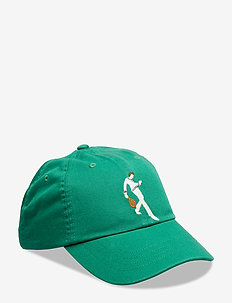Wimbledon Cotton Twill Cap - ENGLISH GREEN