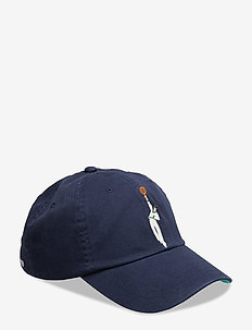 Wimbledon Cotton Twill Cap - NEWPORT NAVY