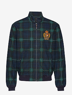 Plaid Cotton Canvas Jacket - GORDON PLAID