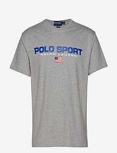 Classic Fit Polo Sport Tee - ANDOVER HEATHER