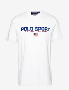 Classic Fit Polo Sport Tee - WHITE