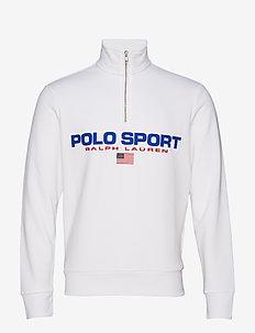 Polo Sport Half-Zip Sweatshirt - WHITE