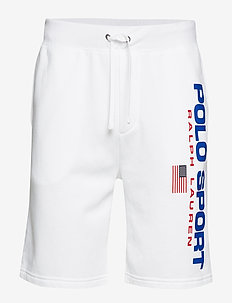 Polo Sport Fleece Short - WHITE