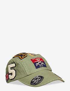 Cotton Fly Fishing Cap - ARMY OLIVE