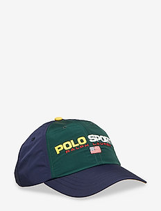 Polo Sport Nylon Cap - COLLEGE GREEN/ CR