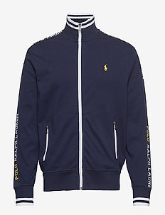Cotton Interlock Track Jacket - FRENCH NAVY