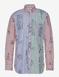 Classic Fit Graphic Fun Shirt - 3390 HERALDIC ICO