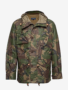 Camo Nylon Oxford Anorak - BRITISH ELMWOOD