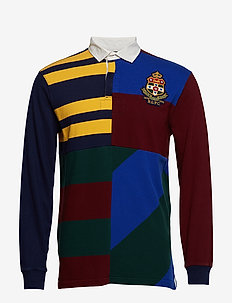 Classic Fit Patchwork Rugby - CRUISE NAVY MULTI