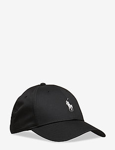 Twill Baseball Cap - POLO BLACK