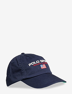 Flag Cotton Chino Cap - NEWPORT NVY W/ PO