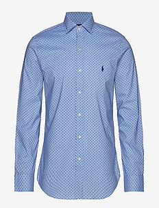 Slim Fit Print Shirt - 4066 BUTTON DIAMO