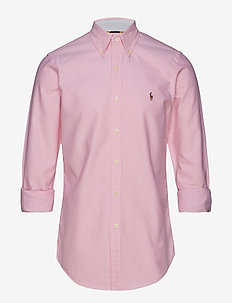 Slim Fit Plaid Oxford Shirt - oxford-hemden - new rose