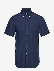 Slim Fit Oxford Shirt - CRUISE NAVY