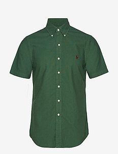 Slim Fit Oxford Shirt - STUART GREEN