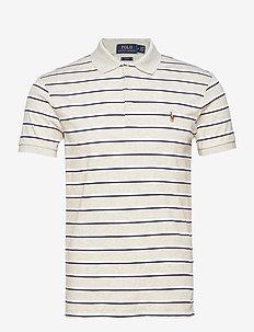 Slim Fit Interlock Polo Shirt - LT SPORT HEATHER
