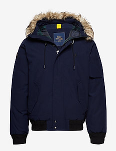 ANNEX BOMBER-DOWN FILL-JACKET - CRUISE NAVY