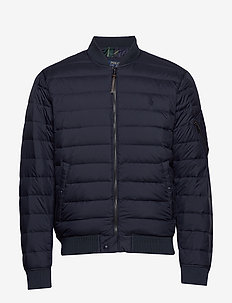 Packable Bomber Jacket - AVIATOR NAVY