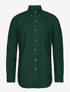 Custom Fit Cotton Oxford Shirt - STUART GREEN
