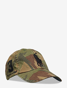 Big Pony Camo Baseball Cap - BRITISH ELMWOOD C