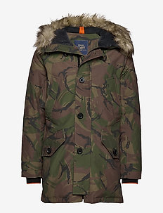 ANNEX JKT-DOWN FILL-JACKET - BRITISH ELMWOOD C